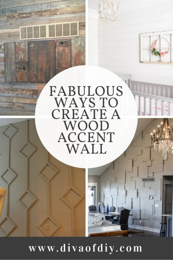 Fabulous ways to create a wood accent wall.