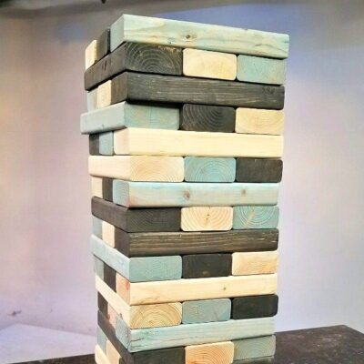 How To Make Your Own Lawn Jenga