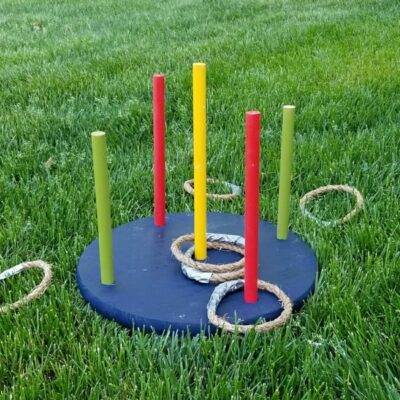 How to Make a DIY Ring Toss Game