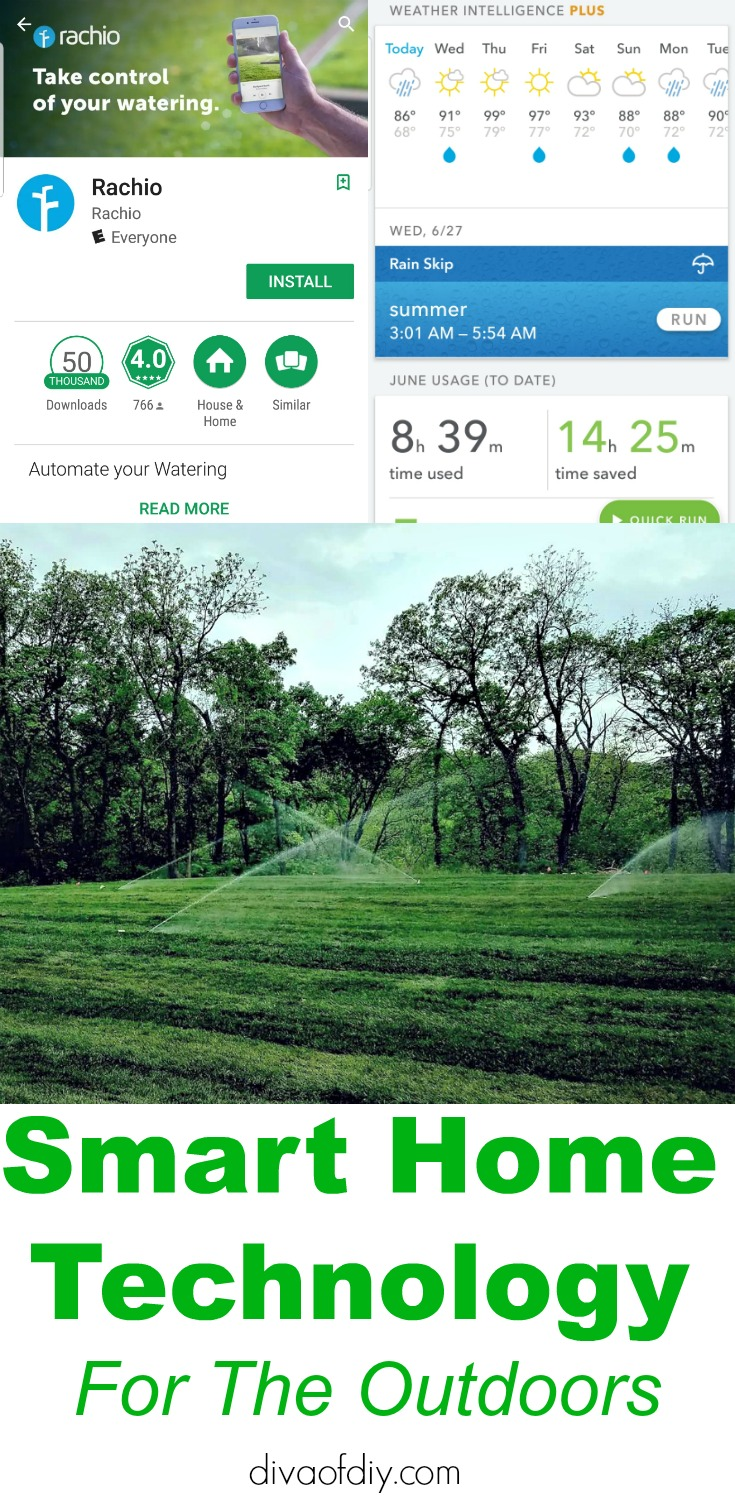 smart home technology for your sprinkler system