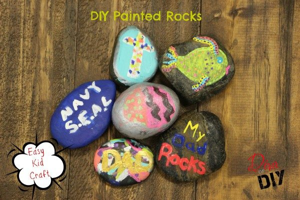 DIY Painted Rocks Craft for Kids