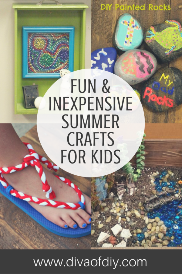 Are You Hearing Those Dreaded Words This Summer Im Bored Well Ive Got Covered Today Sharing A Few Of My Favorite Crafts For Kids