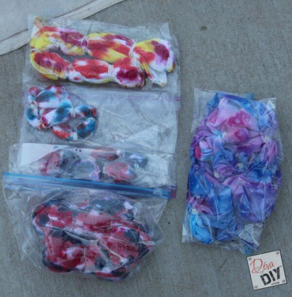 Tie Dye Kids Craft