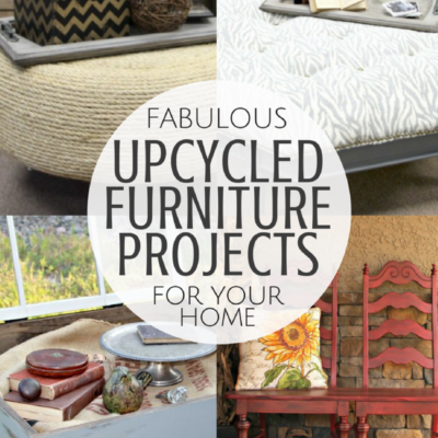 8 Fabulous Upcycled Furniture Projects