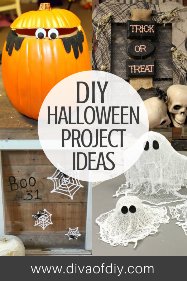 DIY Halloween Project Ideas that are easy to make!