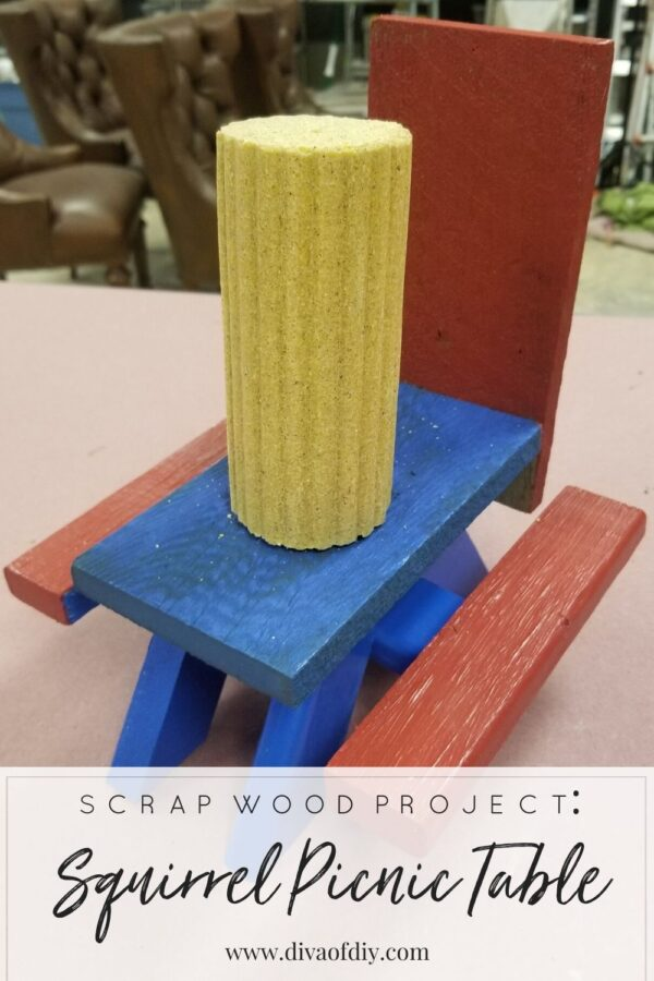 squirrel picnic table pinterest with paint