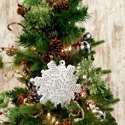 Faith 2020 Snowflake Ornament