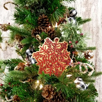 Blessed 2020 Snowflake Christmas Ornament