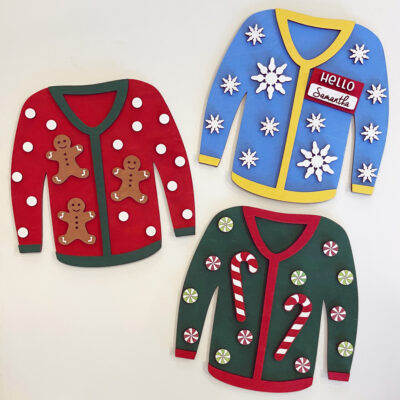 Ugly Sweater Holiday Decor