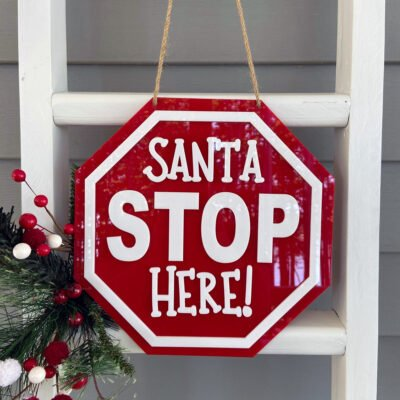 Santa Stop Here DIY Craft Kit