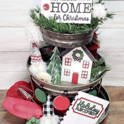Home For The Holidays DIY Craft Kit